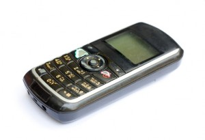 The old mobile phone